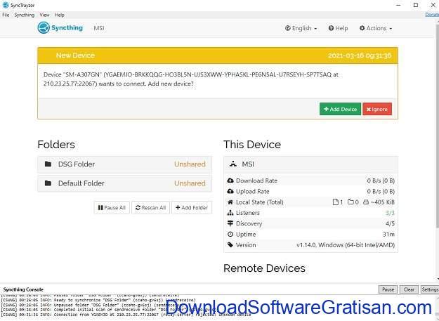 SyncTrayzor Aplikasi Klien Syncthing Gratis untuk Windows SS4
