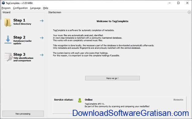 TagComplete Aplikasi Gratis untuk Menandai Lagu Secara Otomatis - SS1