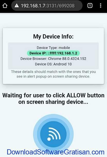 Tampilkan Layar Komputer di Android atau iOS Melalui WiFi Menggunakan Deskreen - SS5