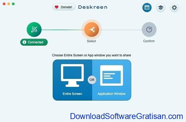 Tampilkan Layar Komputer di Android atau iOS Melalui WiFi Menggunakan Deskreen - SS7