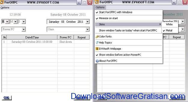 Timer Shutdown gratis terbaik untuk Windows 10 ForOffPC