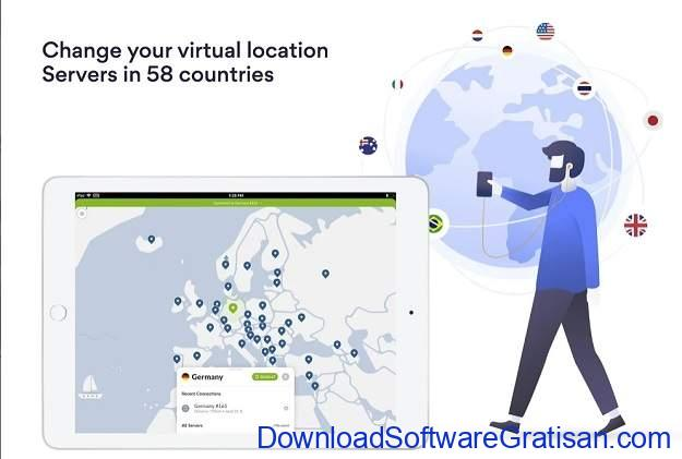 VPN Gratis Terbaik Android - NordVPN