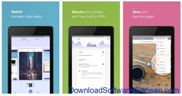 VPN Gratis Terbaik Android - Opera VPN