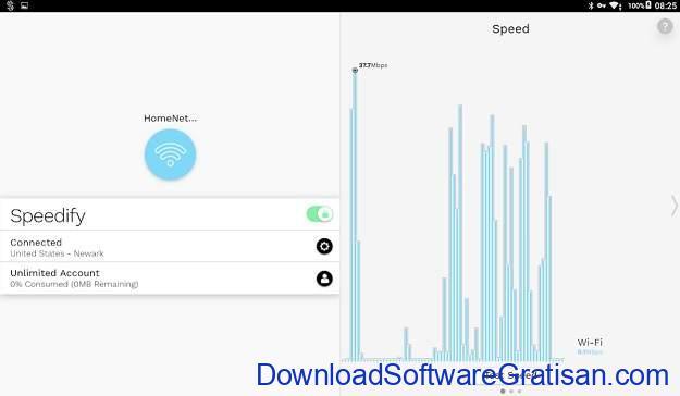VPN Gratis Terbaik Android - Speedify