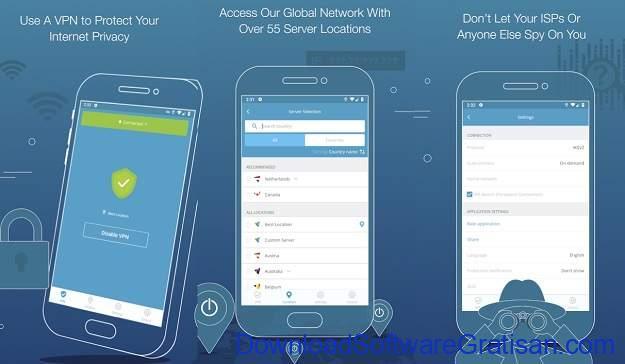 VPN Gratis Terbaik Android - hide me