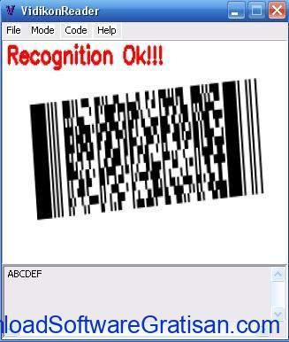 Aplikasi Pemindai Barcode Gratis Terbaik untuk Windows VidikonReader