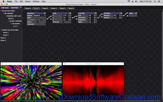 Visualisator Musik Terbaik - Magic Music Visuals