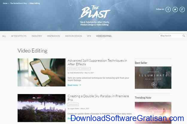 Website Terbaik Belajar Editing Video Secara Gratis RocketStock Blog