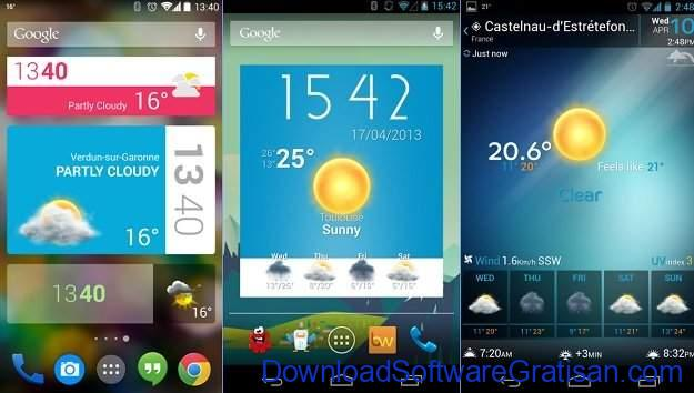 Widget Android Gratis Terbaik Beautiful Widgets Free