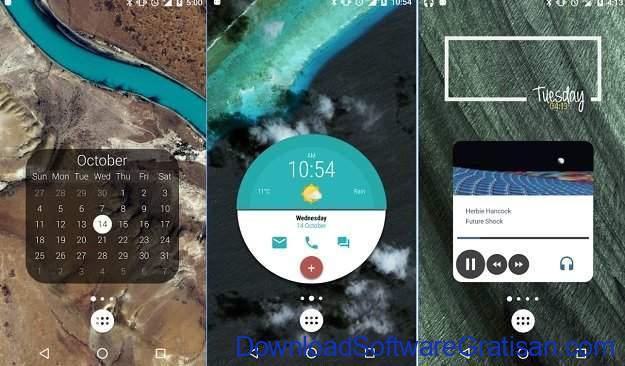 Widget Android Gratis Terbaik KWGT Kustom Widget Maker