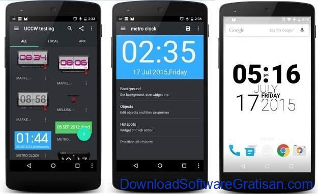 Widget Android Gratis Terbaik UCCW