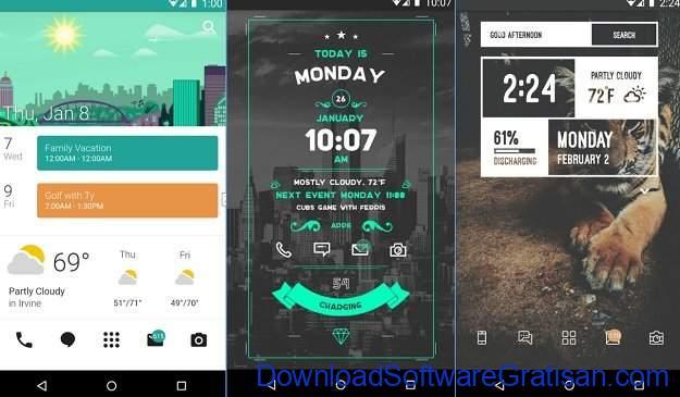 Widget Android Gratis Terbaik Zooper Widget