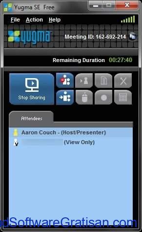 Aplikasi Screen Sharing Yugma SE For Skype SS