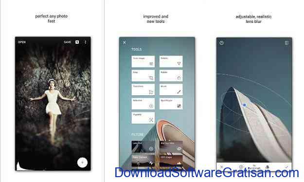 aplikasi edit foto android gratis terbaik snapspeed