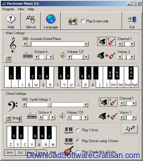aplikasi piano gratis gratis terbaik Electronic Piano