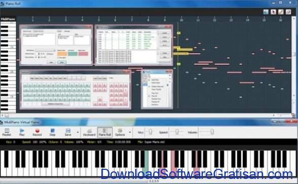 aplikasi piano gratis gratis terbaik MidiPiano