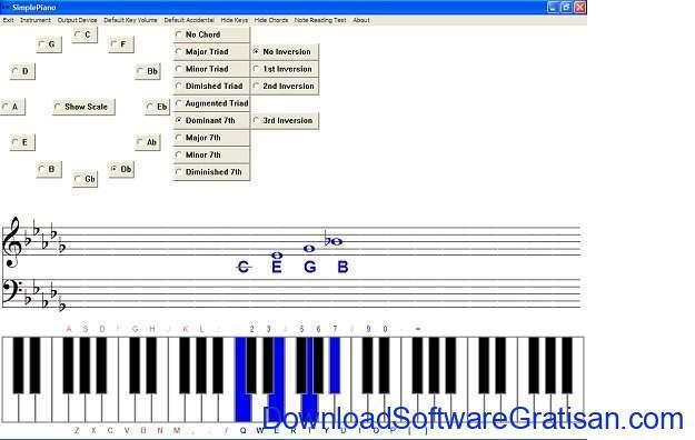 aplikasi piano gratis gratis terbaik Simple Piano