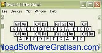 aplikasi piano gratis gratis terbaik Sweet Little Piano