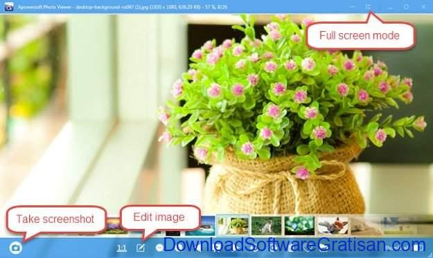 Aplikasi Penampil Foto Gratis Terbaik untuk Windows Apowersoft Photo Viewer