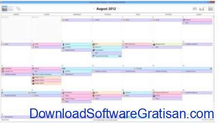 Aplikasi Kalender Gratis Terbaik untuk PC Bossdesk Calendar