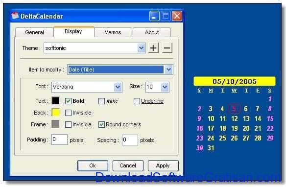 Aplikasi Kalender Gratis Terbaik untuk PC DeltaCalendar