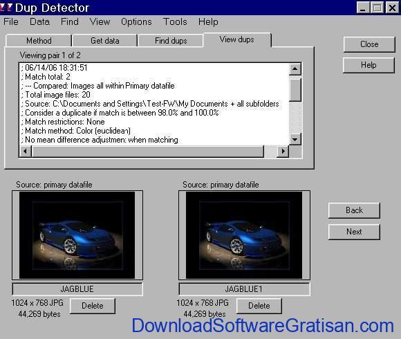 Cara Menemukan File Gambar Duplikat pada Windows Dup Detector