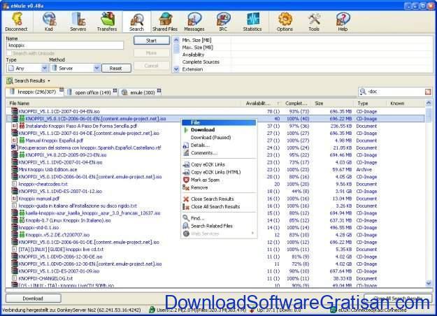 Aplikasi Peer-to-Peer (P2P) Gratis Terbaik untuk Sharing File eMule Project