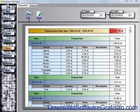 Aplikasi Manajemen Pengeluaran Gratis Terbaik Expenses Manager