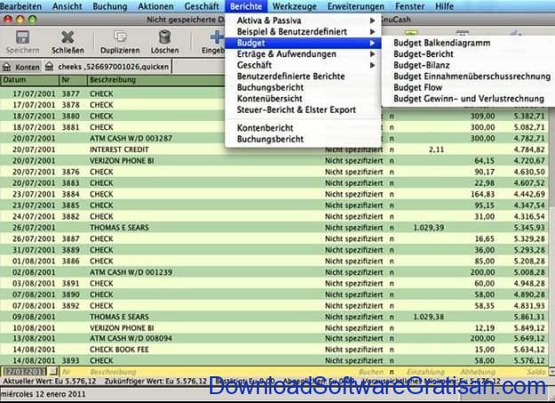 Aplikasi Manajemen Pengeluaran Gratis Terbaik GnuCash