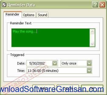 Aplikasi Penjadwal Tugas Gratis Terbaik untuk Windows Kana Reminder