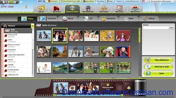 Aplikasi Gratis Pembuat Slideshow Foto Terbaik Kizoa