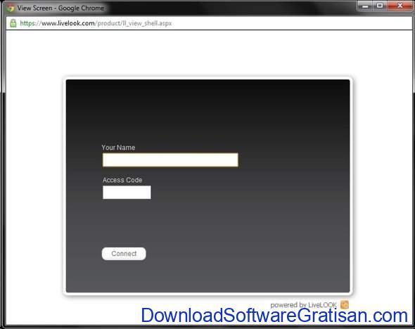 Aplikasi Screen Sharing Live Look