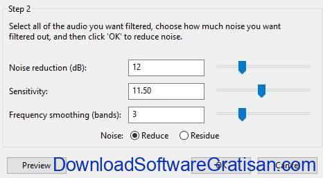 menghapus noise pada audacity
