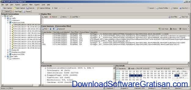 Aplikasi Monitoring & Analisis Jaringan untuk Sysadmin Microsoft Network Monitor