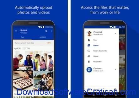 Layanan & Aplikasi Penyimpanan Cloud Gratis Terbaik Android Microsoft OneDrive