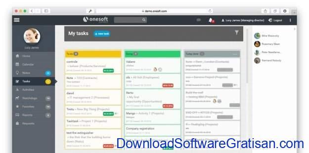 Aplikasi Online Gratis Terbaik untuk Manajemen Kontrak OneSoft Connect