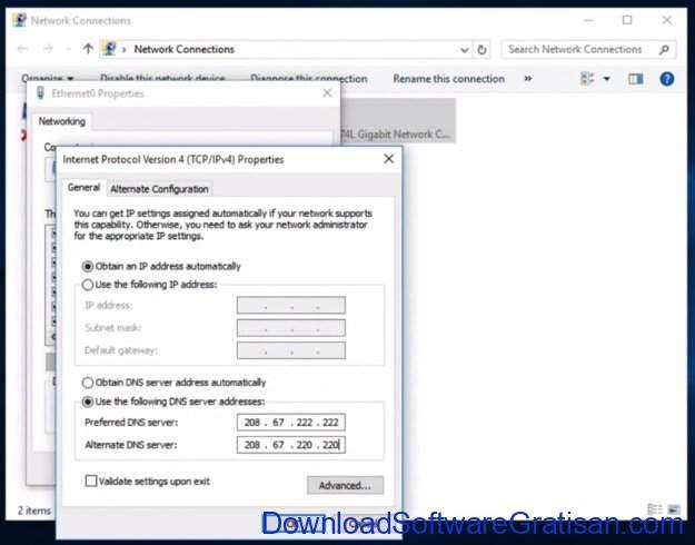 Aplikasi Kontrol Orang Tua Gratis Terbaik untuk PC OpenDNS Family Shield