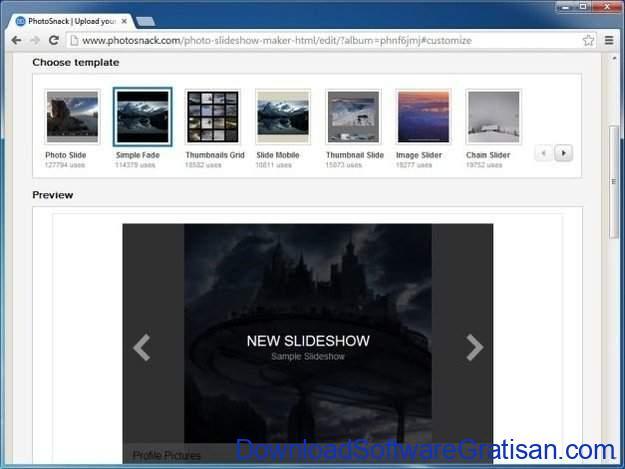 Aplikasi Gratis Pembuat Slideshow Foto Terbaik Photosnack