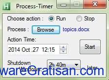 Aplikasi Penjadwal Tugas Gratis Terbaik untuk Windows Process Timer