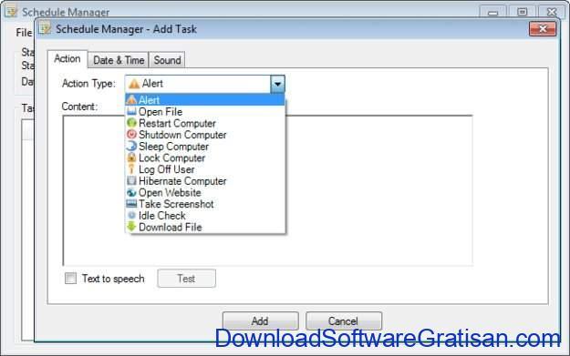 Aplikasi Penjadwal Tugas Gratis Terbaik untuk Windows Schedule Manager