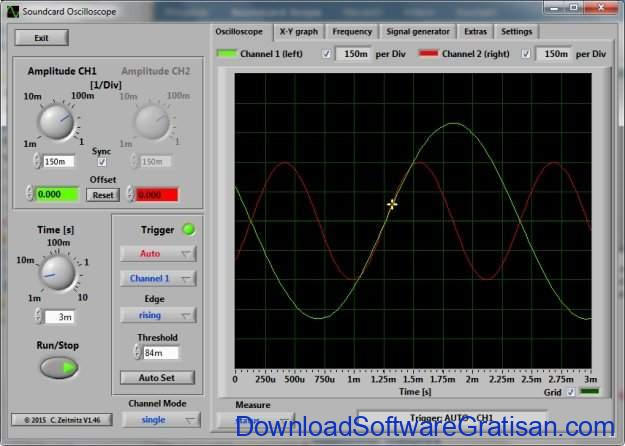 Soundcard Oscilloscope