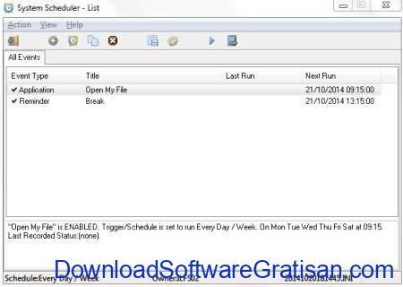 Aplikasi Penjadwal Tugas Gratis Terbaik untuk Windows System Scheduler