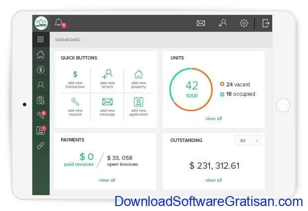 Aplikasi Online Manajemen Properti Gratis Terbaik TenantCloud