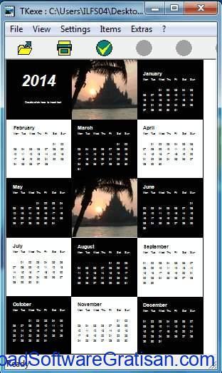 Aplikasi Kalender Gratis Terbaik untuk PC TKexe Kalender