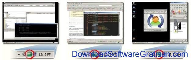 Aplikasi Multi Desktop Window VirtuaWin