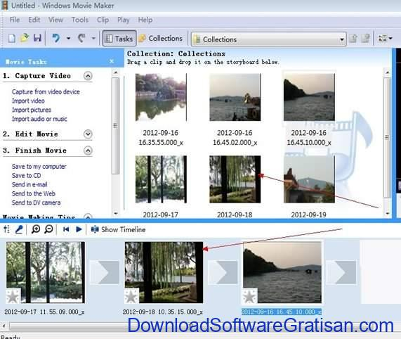 Aplikasi Gratis Pembuat Slideshow Foto Terbaik Windows Movie Maker