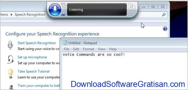Aplikasi Konverter Speech To Text Gratis Terbaik Windows Voice Recognition