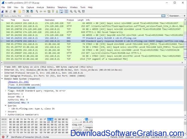 Aplikasi Monitoring & Analisis Jaringan untuk Sysadmin WireShark
